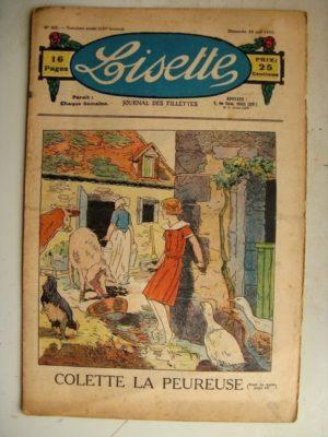 LISETTE N°22 (28 mai 1933) Colette la peureuse (Louis Maîtrejean) La petite Annie (Darell McClure)