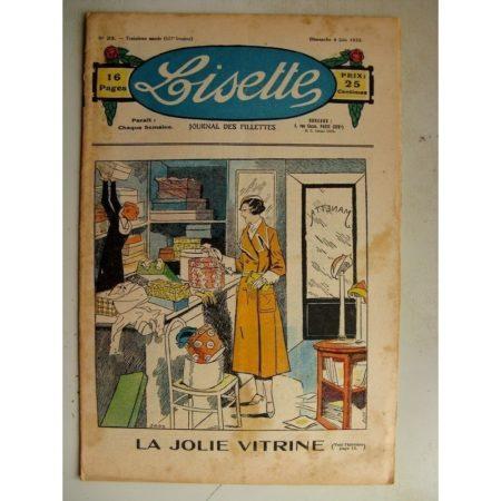 LISETTE n°23 (4 juin 1933) La jolie vitrine (Louis Maîtrejean) La petite Annie (Darell McClure)