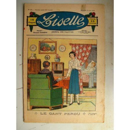 LISETTE n°25 (18 juin 1933) Le domaine du possible (De Vaszary) La petite Annie (Darell McClure)