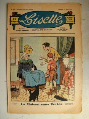 LISETTE N°29 (16 juillet 1933) La maison sans portes (Le Rallic) Jeux et jouets (Henriette Roynette)