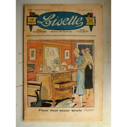 LISETTE n°30 (23 juillet 1933) Pour moi toute seule (Louis Maîtrejean) Poupée Lisette (Vareuse en perlaine)