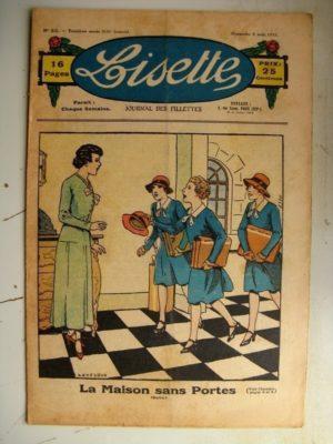 LISETTE n°32 (6 août 1933) La maison sans portes (Le Rallic - Claude Renaudy)