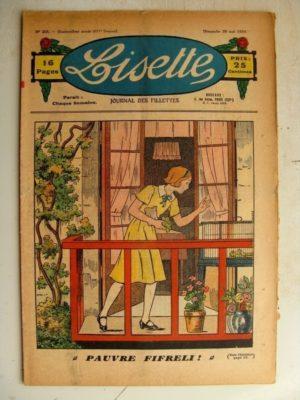 LISETTE N°20 (20 mai 1934) Pauvre Fifreli – Jase et Jasette (Pierre Portelette)