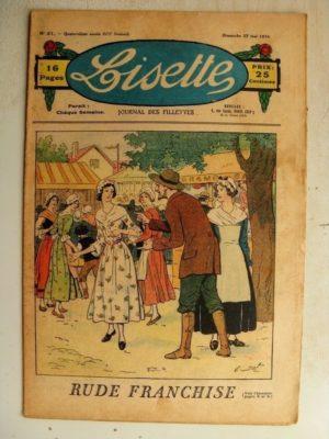 LISETTE N°21 (27 mai 1934) Rude franchise (Emile Dot) Poupée Francette (Robe coquette)
