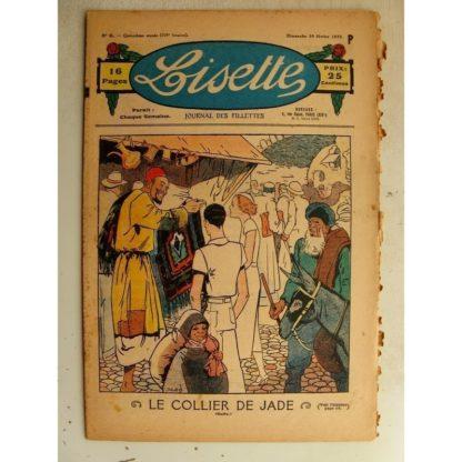 LISETTE n°6 (10 février 1935) Les filles de Jérôme Bontemps (Madeleine Léonce Petit) Le collier de Jade (Louis Maîtrejean)