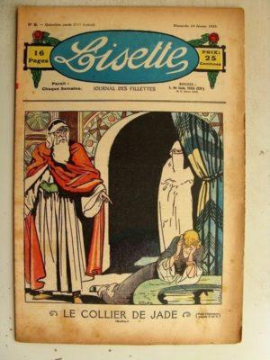 LISETTE n°8 (24 février 1935) Le collier de Jade (Louis Maîtrejean) Sultan le chien (Maurice Cuvillier)