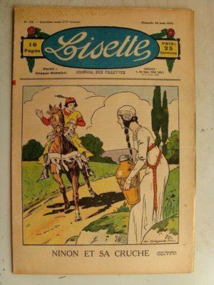 LISETTE N°12 (24 mars 1935) Ninon et sa cruche (A. Cazaro)