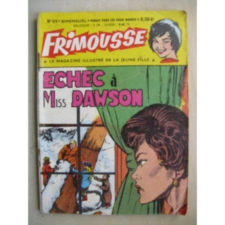 FRIMOUSSE N° 89 Echec à Miss Dowson Châteaudun 1962)