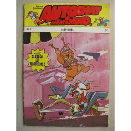 AUTOCHAT ET MIMIMOTO N°2 Haute Voltige - Diabolo le magnifique (Hanna Barbera 1973)