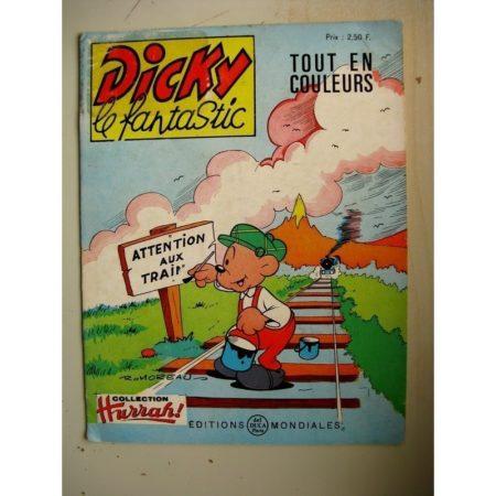 DICKY LE FANTASTIC N°56 Meneur de jeu (Robert Moreau) Editions Mondiales 1972