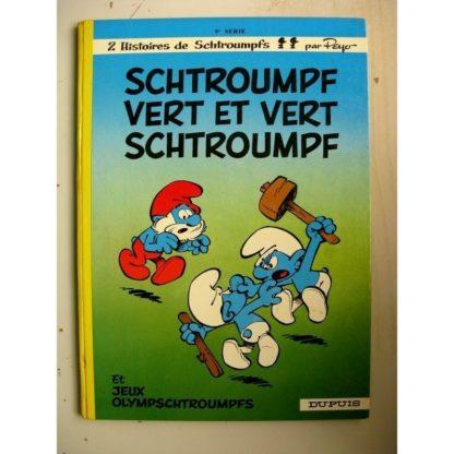 Les Schtroumpfs - 9 - Schtroumpf vert et vert schtroumpf - Peyo - Dupuis 1973 - Edition Originale (EO)