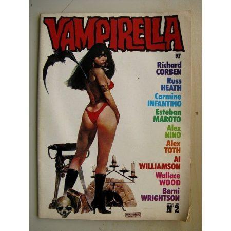 VAMPIRELLA NS N°2 (Editions du Triton 1978)