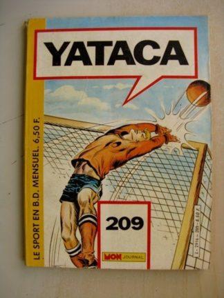YATACA N°209 Goal Keeper (Mon Journal 1985)