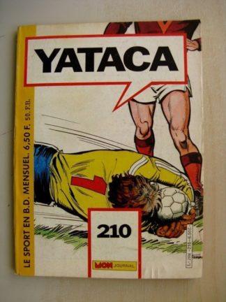 YATACA N°210 Goal Keeper - Skate Borg(Mon Journal 1985)