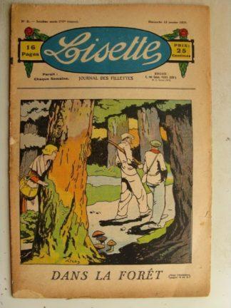 LISETTE n°2 (12 janvier 1936) La forêt (Louis Maîtrejean)