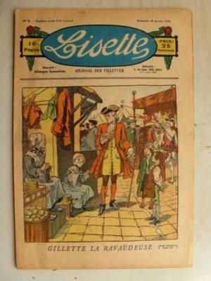 LISETTE N°3 (19 janvier 1936) Gillette la Ravaudeuse (Raymond de la Nézière)