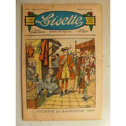 LISETTE n°3 (19 janvier 1936) Gillette la Ravaudeuse (Raymond de la Nézières)