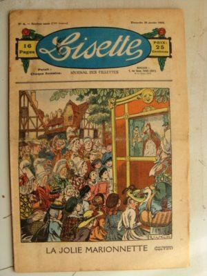 LISETTE N°4 (26 janvier 1936) Jolie marionnette (Raymond de la Nézière)