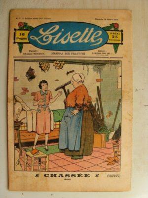 LISETTE N°7 (16 février 1936) Chassée (Le Rallic – André HENRY)