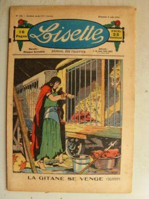 LISETTE N°10 (8 mars 1936) La gitane se venge (Louis Maîtrejean)
