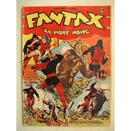 FANTAX N°11 La mort noire (Chott) Editions Pierre Mouchot 1947