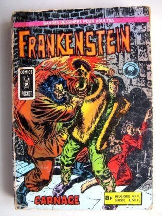 FRANKENSTEIN Recueil N°3122 (n°5 + n°6) (Comics Pocket) Aredit