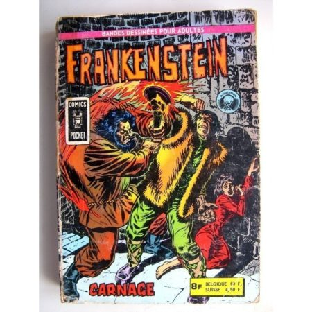 FRANKENSTEIN Recueil N°3122 (n°5 + n°6) (Comics Pocket) Aredit