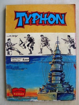 TYPHON N°27 - Le proscrit (Collection Audax) Aredit