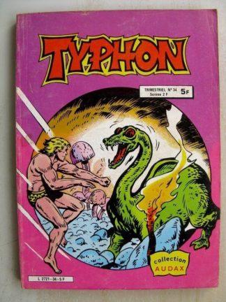 TYPHON N°34 - La périlleuse mission de Morgyn (Collection Audax) Aredit