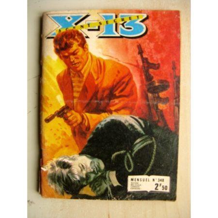 X13 AGENT SECRET N°348 (Impéria 1978)