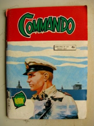 COMMANDO N°277 Collection Héroïc AREDIT 1982