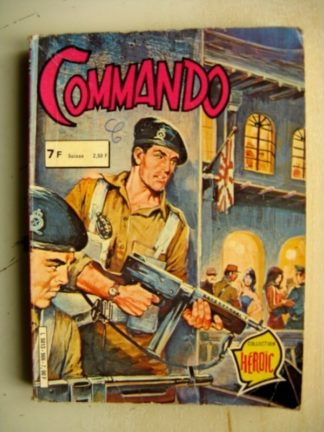 COMMANDO RECUEIL (269-270) Collection Héroïc AREDIT 1981