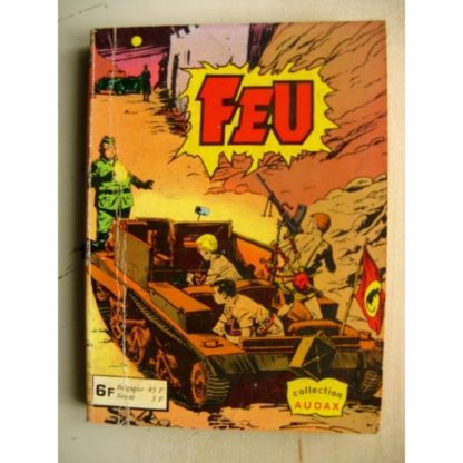 FEU ALBUM 747 (N°15-18) Collection Audax Aredit 1978
