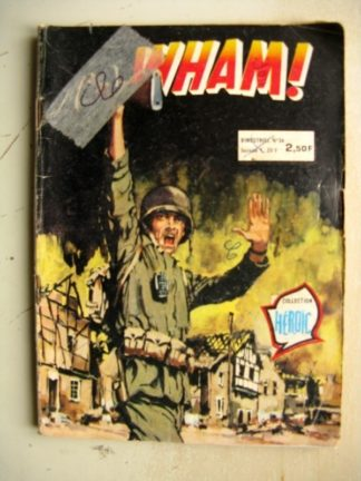 WHAM! N°34 (Collection Héroïc) Aredit 1980