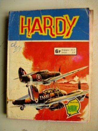 HARDY RECUEIL (N°50-51) COLLECTION HEROIC Aredit 1979