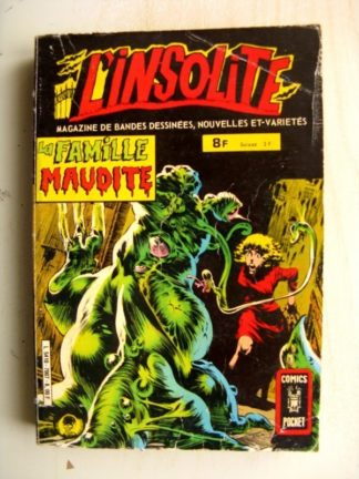 L'INSOLITE Recueil n°7007 (n°19-20) La famille maudite (Aredit Comics Pocket 1981)