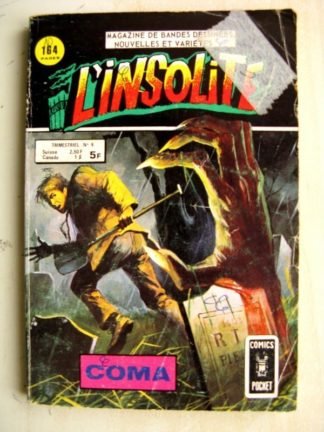 L'INSOLITE (Comics Pocket) n°9 Coma (Aredit 1978)