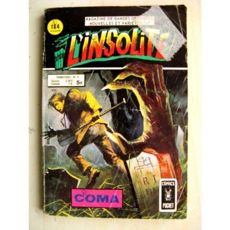 L'INSOLITE (Comics Pocket) n°9 Coma (Aredit 1978)