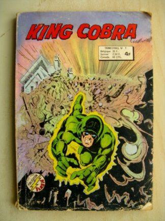 KING COBRA 2e série n°3 - Prisonnier des plantes (Aredit 1977)