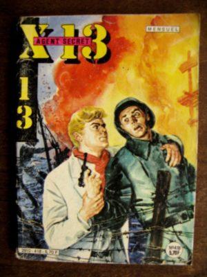 X13 AGENT SECRET N°418 (IMPERIA 1984)