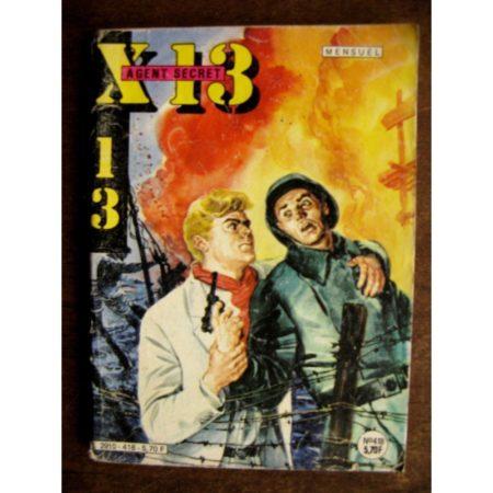 X13 AGENT SECRET N°418 (Impéria 1984)