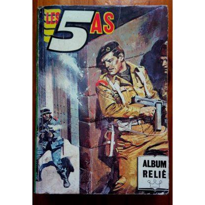 LES 5 AS ALBUM RELIE 55 (N°251-252-253-254) IMPERIA 1986