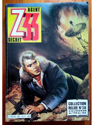 Z33 AGENT SECRET ALBUM RELIE 38 (N°149-150-151-152) IMPERIA 1985