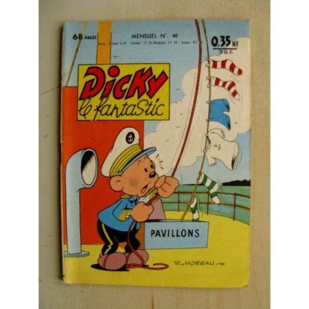 DICKY LE FANTASTIQUE n°60 La fontaine de Jouvence (Edtions Mondiales 1961)