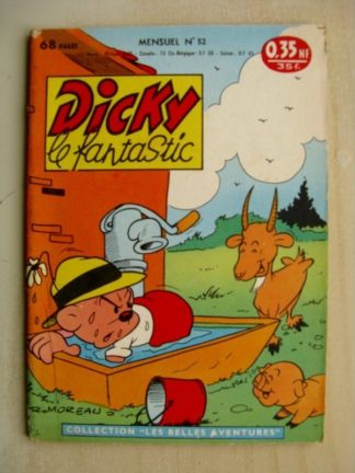 DICKY LE FANTASTIQUE n°52 Chef de Gare (Edtions Mondiales 1961)