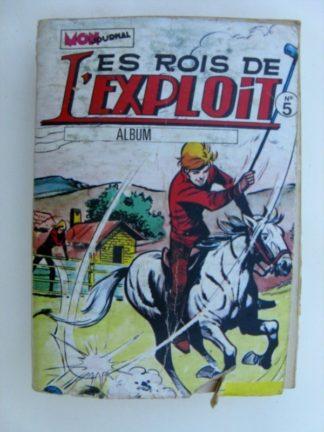 LES ROIS DE L'EXPLOIT - ALBUM 5 (13-14-15) Mon Journal1976
