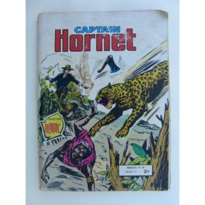 CAPTAIN HORNET N°39 UNE FAMEUSE IDOLE - AREDIT 1979
