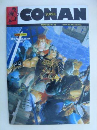 SUPER CONAN N°35 Le colosse d'Argos (2e partie) Mon Journal 1988