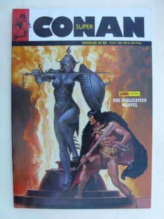 SUPER CONAN N°36 Ténèbres Démoniaques - Mon Journal 1988