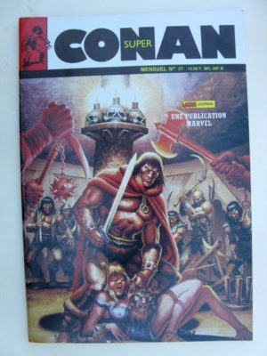 SUPER CONAN N°37 Le Noir Démon de Raba Than – Mon Journal 1988